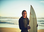 Surfing is an instant mood booster for me