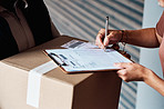 Your parcel will be released once you sign for it