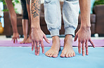 Yoga helped us to find balance in our relationship
