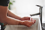 Before you touch, hand washing is a must