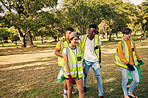 Volunteering is a walk in the park