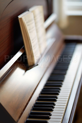 Buy stock photo A photo of a very old piano