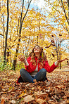 Autumn brings out the happiness in me