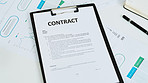 Entering into a business contract