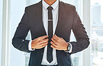 Success matches perfectly with a stylish suit