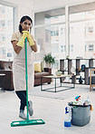Keeping your home clean is one serious business