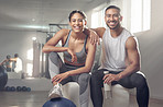 Hit the gym and bring your partner along!