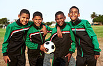 Soccer teaches kids skills such as teamwork and perseverance