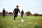 Soccer develops agility, speed and stamina