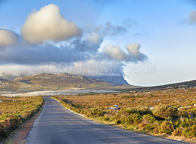 Buy stock photo The wilderness of Cape Point National Park, Western Cape, South Africa
