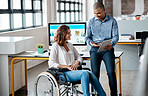 Disability is no barrier for working capability
