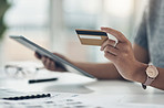 Online banking works best for her business