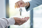 Here are the keys to your new home