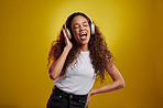 Good music makes me want to roar with happiness