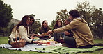 Food, friends and the outdoors