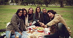 Picnics are a great way to spend time with friends