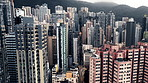 Hong Kong has the most skyscrapers in the world