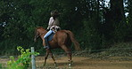 Forget diamonds, horses are a girl's best friend
