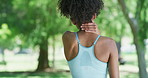 Neck pain is common in workouts