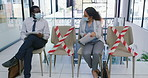 Job interviews in the age of social distancing