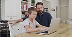 Gaining valuable digital skills with Dad