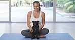 Exercise doesn't have to paws just because you're pregnant